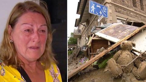 Hochwasser in Ahrweiler: Mallorca-Urlauber kehren in ihr Haus zurück