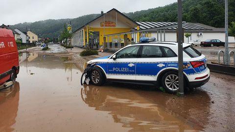 Hochwasser in Prüm