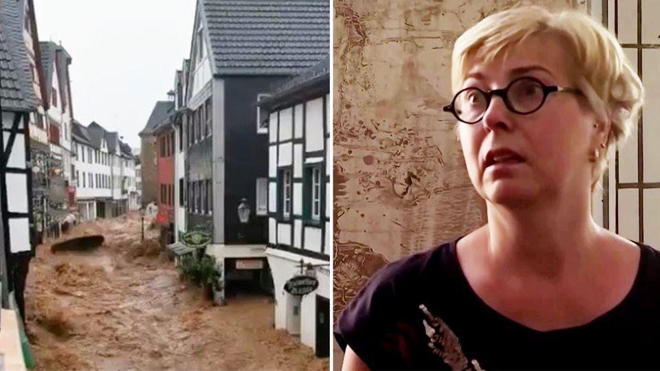 Bad Münstereifel: Augenzeugin Trudi Hündgen berichtet von der Hochwasser-Katastrophe