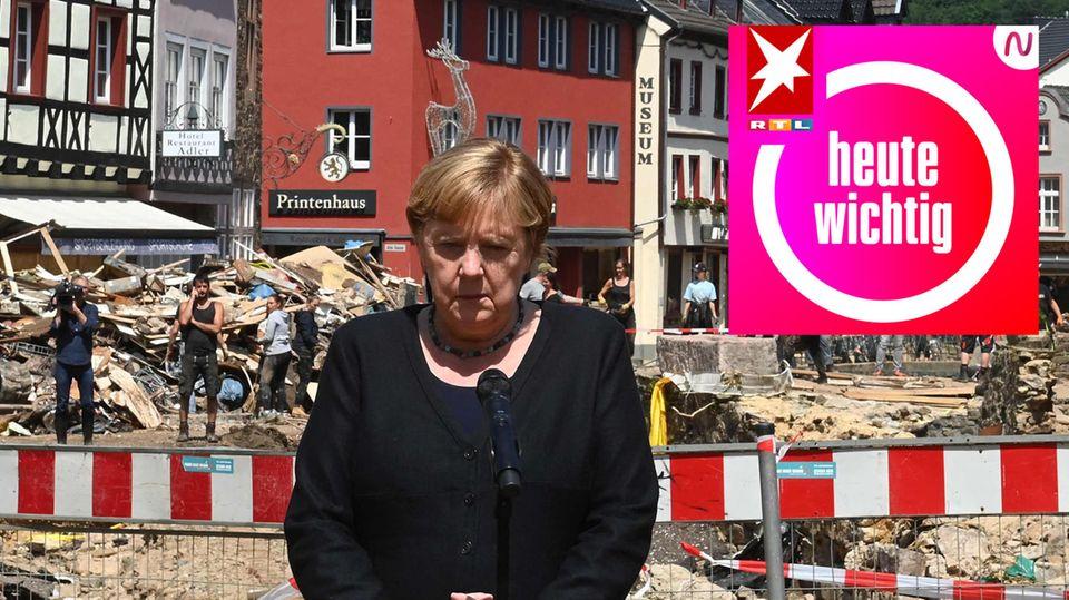 Merkel in Münstereifel