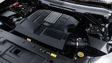 der V8 des Land Rover Defender V8