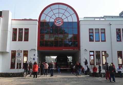 Bayern München view Säbener Straße