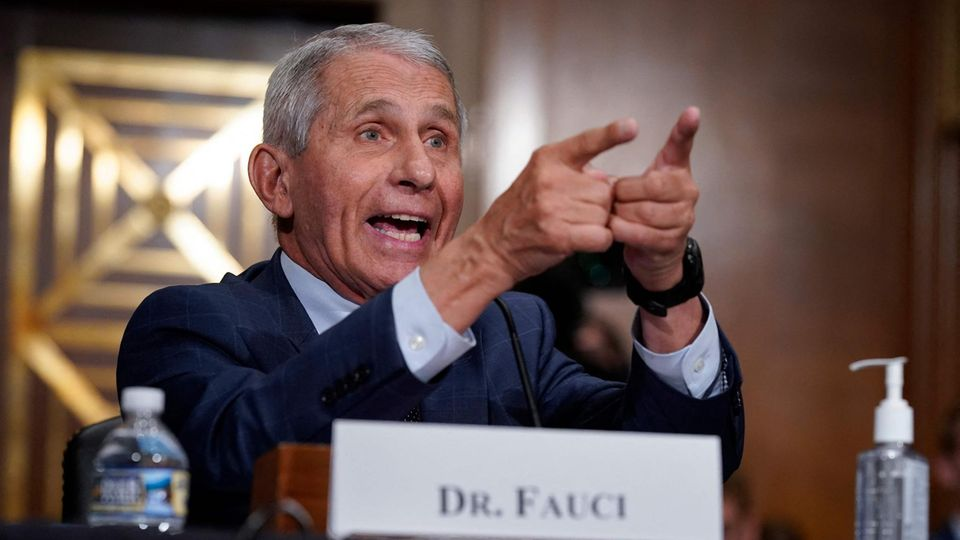 Anthony Fauci, US-Virologe und Berater des Weißen Hauses
