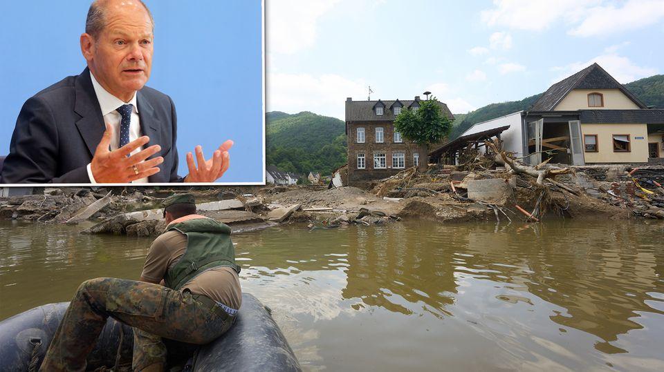 Finanzminister Olaf Scholz beschließt 200 Millionen Soforthilfe – mit Aussicht auf mehr.