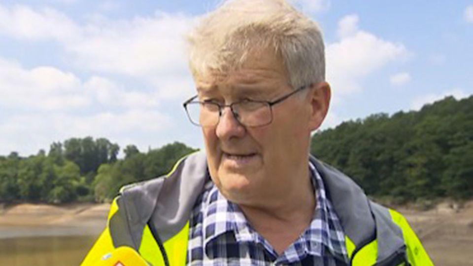 """Hochwasser-Held: Er räumte unter Lebensgefahr den Abfluss der Talsperre: """"Das hätte jeder ander auch gemacht"""""""