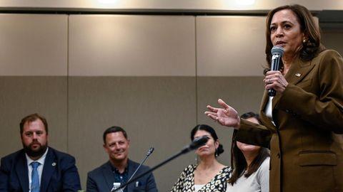 Treffen texanischer Abgeordneter mit Vize-Präsidentin Kamala Harris
