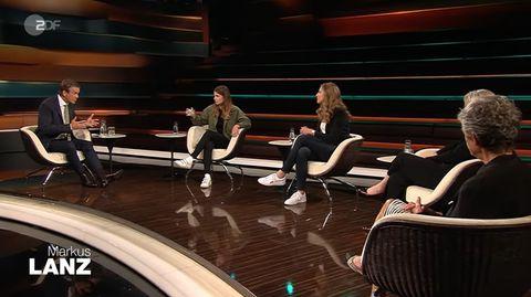 """""""Markus Lanz"""" im ZDF vom Mittwochabend"""