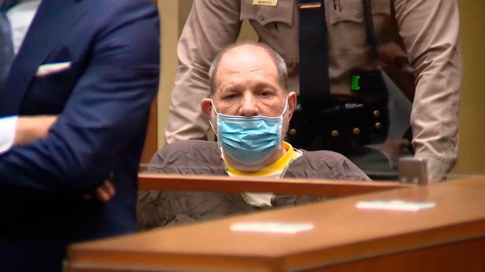 Harvey Weinstein im Gericht von Los Angeles