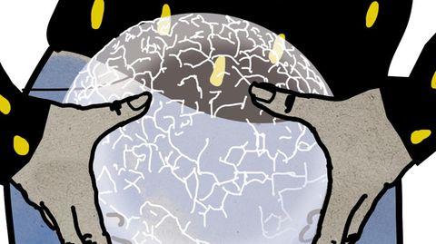 Illustration Blasenrheuma