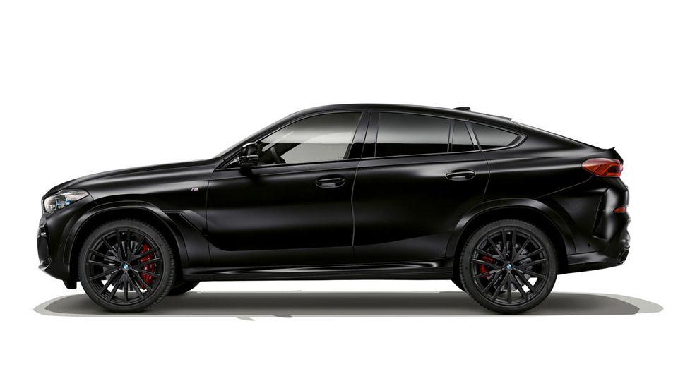 BMW X6: Ein ähnliches Fahrzeug sucht die Polizei