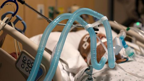 Beatmeter Patient im Krankenhaus