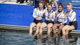FS Medaillenhoffnung Doppelvierer Frauen