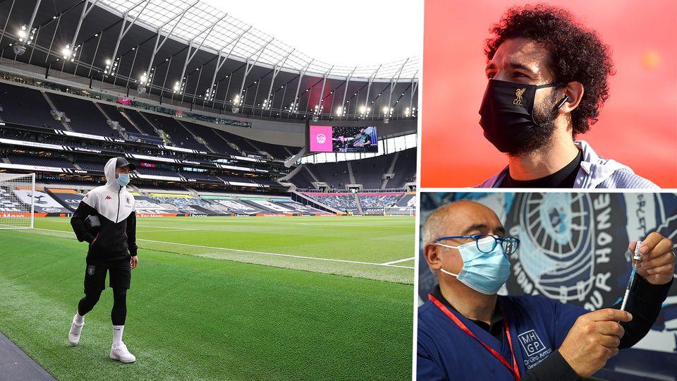 Premier League Mohamed Salah Covid-19 Coronavirus Vaccine