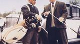 """In dem dritten James-Bond-Abenteuer """"Goldfinger"""" spielteSakata """"Oddjob"""", den Handlanger des von Gerd Fröbe gespielten OberfieslingsAuric Goldfinger. Sakatas Spezialität in dem Film: der tödliche Wurf mit dem Hut."""