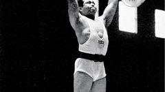 Kennen Sie diesen Mann? Bei denOlympischen Spielen von London gewann der amerikanischeLeichtschwergewichtler Harold Sakata 1948 die Silbermedaille imGewichtheben. Besser bekannt ist er allerdings als Schauspieler.