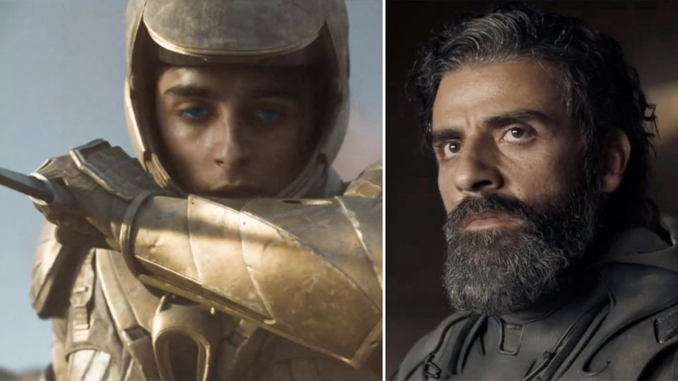 """Dune"": Timothée Chalamet und Oscar Isaac im Trailer"