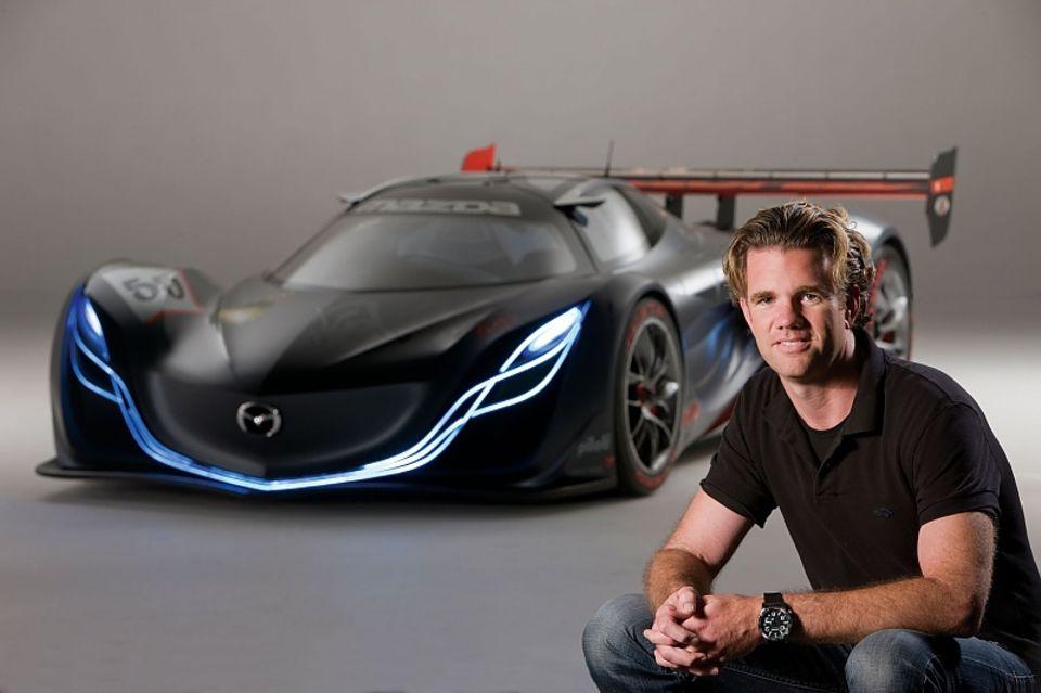 Franz von Holzhausen und der Mazda Furai