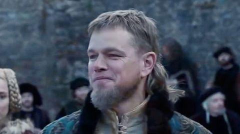 """The Last Duel"": Matt Damons Vokuhila sorgt für Lacher bei den Fans"