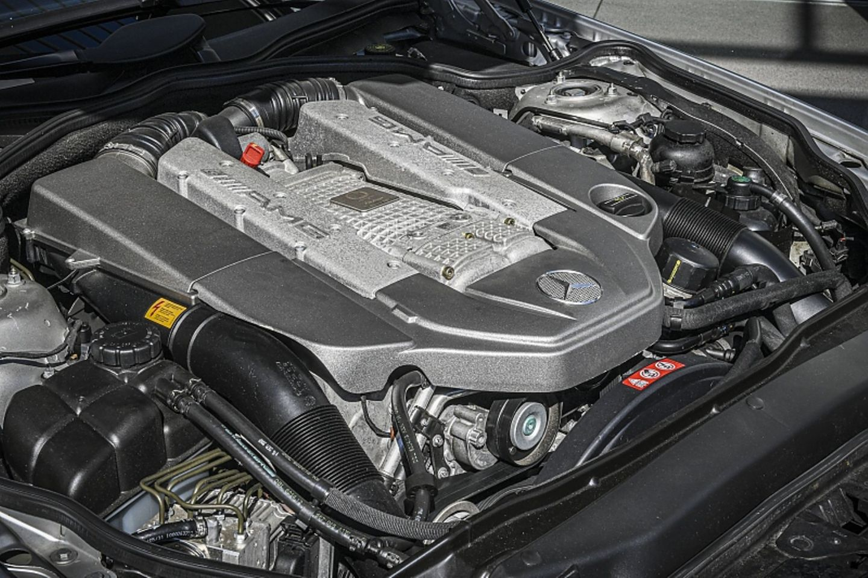 Mercedes SL (R230) 55 AMG