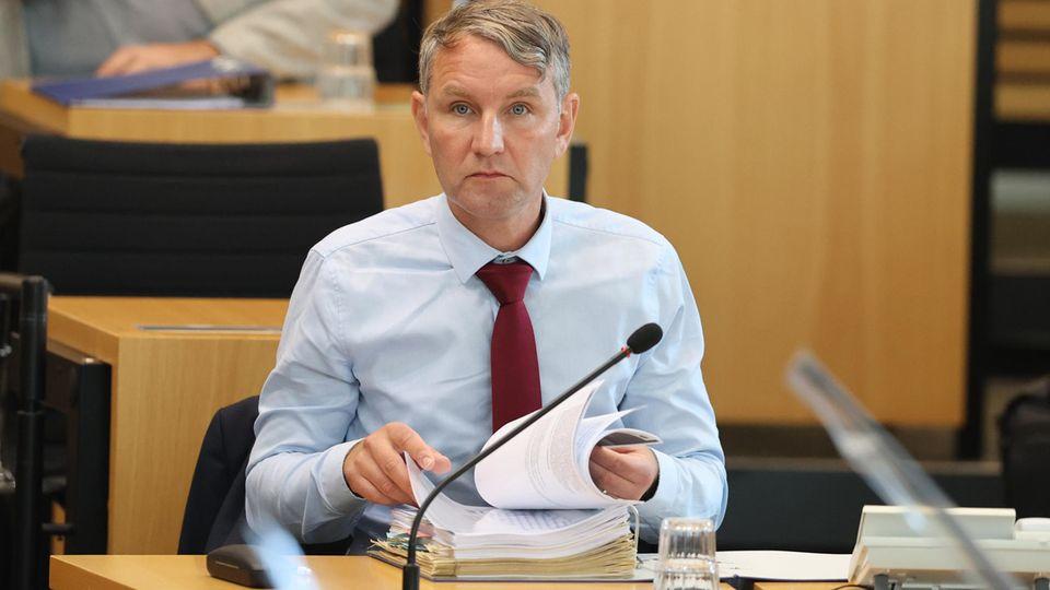 Björn Höcke im Thüringer Landtag