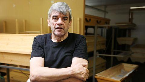 Der Bestatter Ferdinand Pfahl aus Bonn