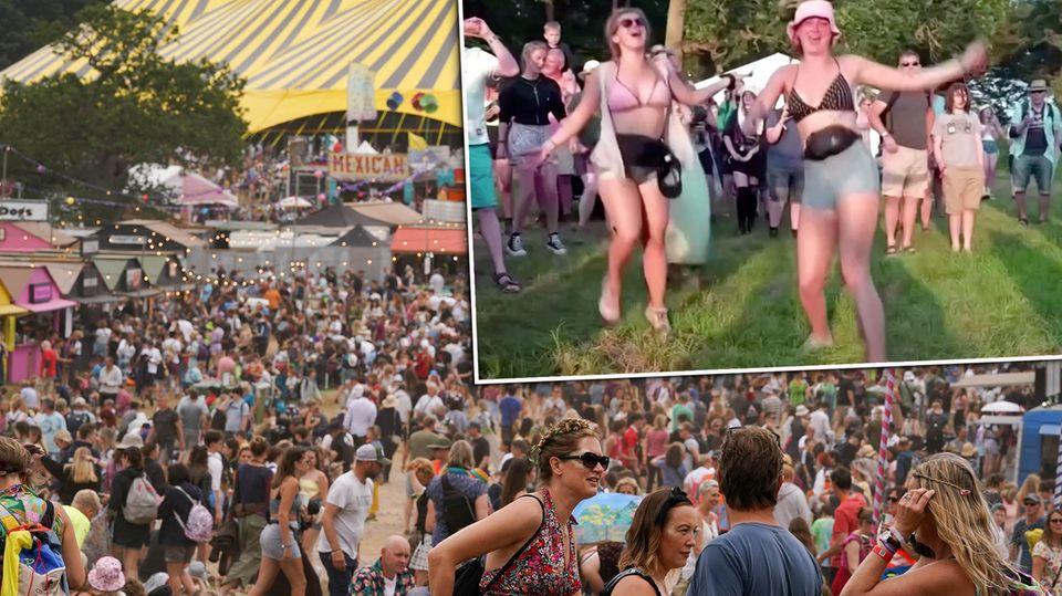Latitude-Festival: 40.000 feiern trotz Corona – Bilder, wie man sie lange nicht mehr gesehen hat
