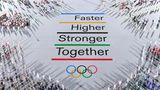 Eröffnung Neues olympische Motto