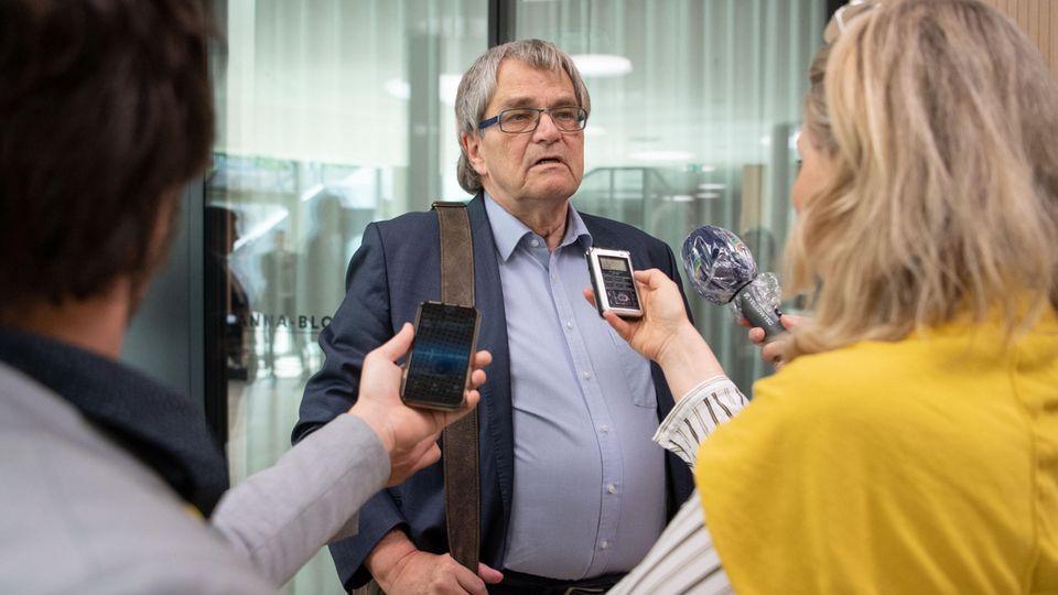 UliSckerl, Abgeordneter im Landtag von Baden-Württemberg undParlamentarischer Geschäftsführer der Grünen