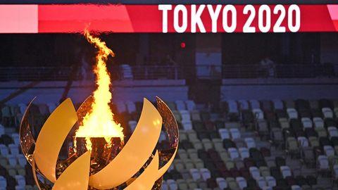 Eröffnung: Das olympische Feuer brennt