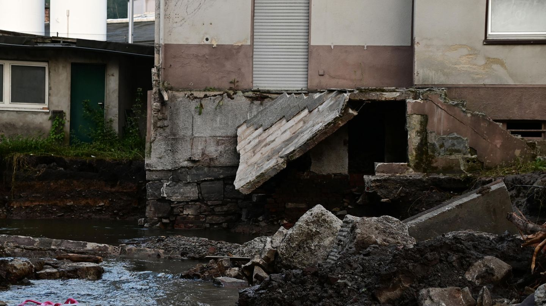 Nordrhein-Westfalen, Hagen: mehrere Tage nach den schweren Unwettern