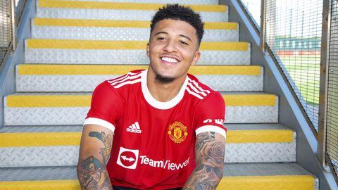 Sancho Manchester United 2021