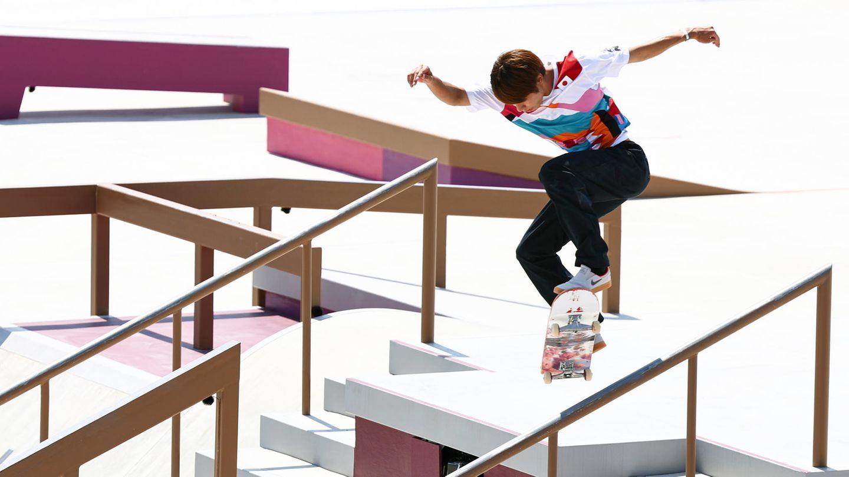 Skateboarder Yuto Horigome