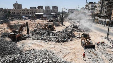 Zerstörungen im Gazastreifen