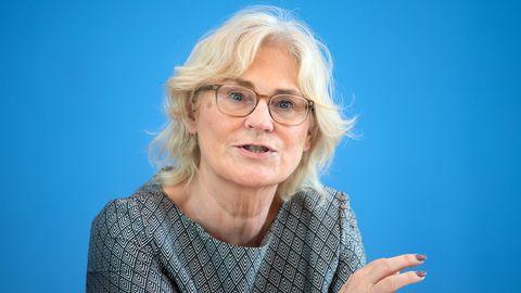 Christine Lambrecht (SPD), Bundesjustiz- und Bundesfamilienministerin