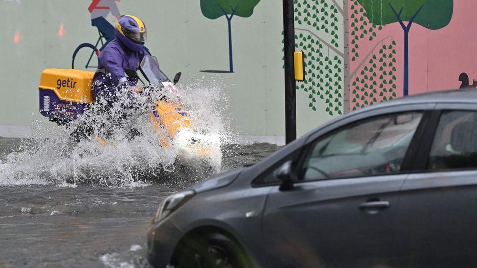 Überschwemmung in London