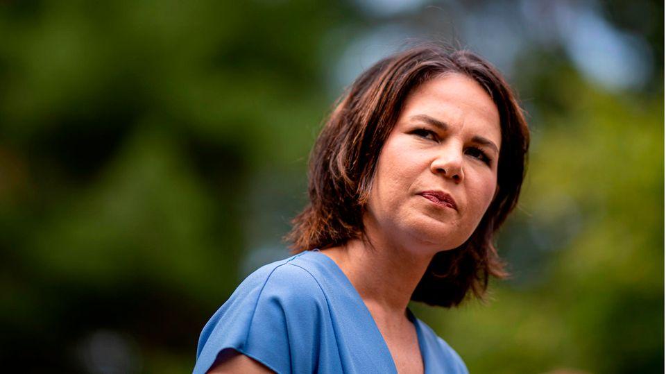 Annalena Baerbock (Bündnis 90/Die Grünen), Parteivorsitzende und Kanzlerkandidatin