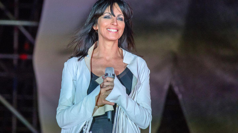 Nena singt bei einem Konzert 2018 in Berlin