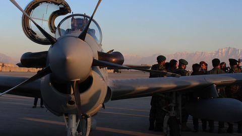 Insgesamt wurden 30 Exemplare für die afghanische Luftwaffe bestellt.