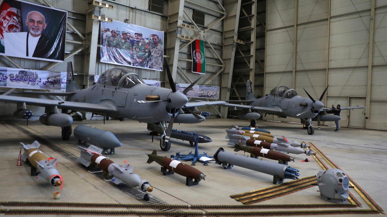 In Afghanistan dient die A-29 nur zur Bekämpfung von Bodenzielen.
