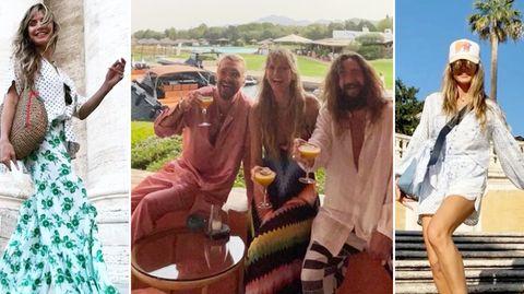 Heidi Klum und Tom Kaulitz machen Urlaub in Rom