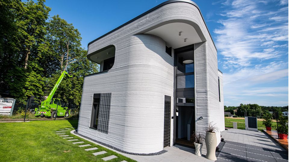 Das erste von einem 3D-Drucker gedruckte Haus