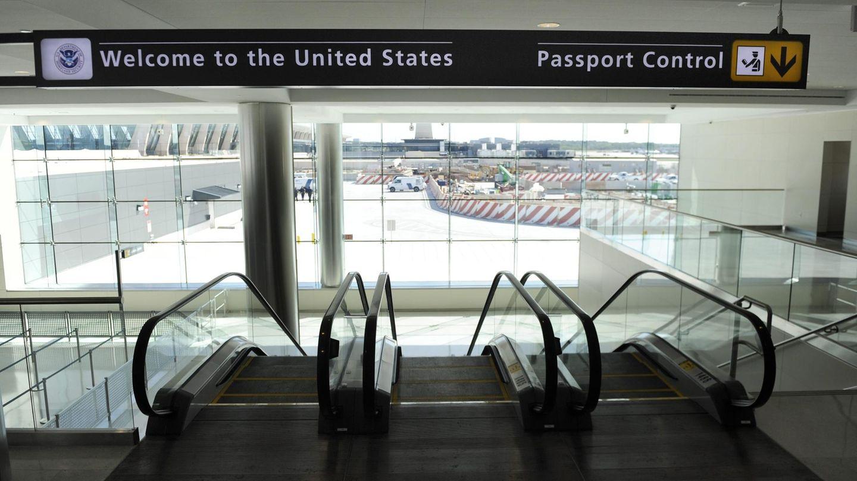 Ankunftsbereich im Flughafen Washington Dulles International