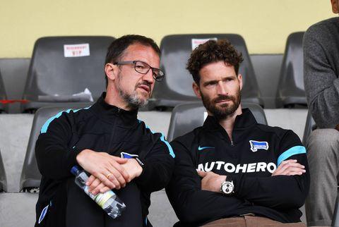 GER ONLY Fredi Bobic Arne Friedrich Hertha BSC