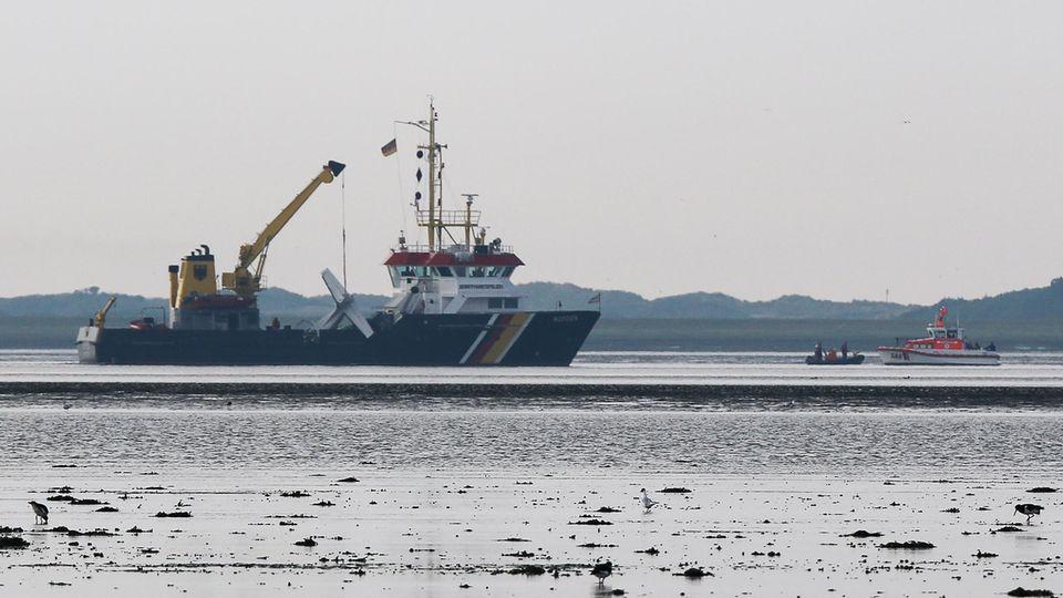 Kleinflugzeug stürzt vor Norderney ab