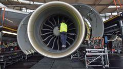 Turbofan-Triebwerke der Boeing 747-8