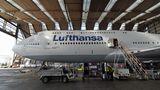 Boeing 747-8 der Lufthansa mit der Kennung D-ABYI