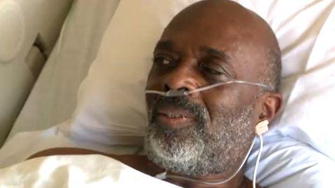 Corona-Patient Harland McPhun hatte sich nicht impfen lassen, jetzt bereut er seine Entscheidung.