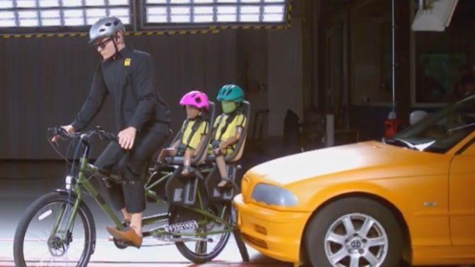 Lastenrad, Fahrradsitz oder -anhänger im ADAC-Test: Wo ist die Gefahr für Kinder am höchsten?