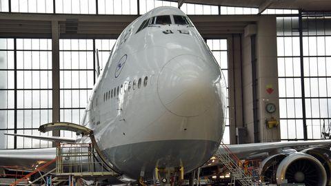 Boeing 747-8 der Lufthans