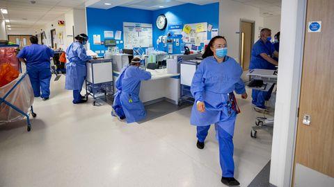 Britisches Gesundheitssystem am Limit